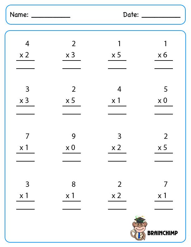 Multiplication | Brainchimp