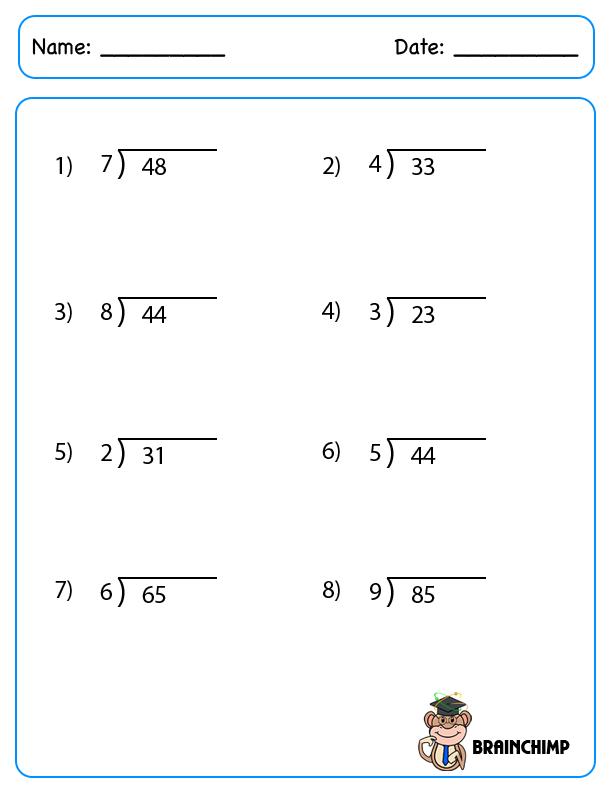 Division Worksheet Generator Multiplication Division Worksheets – Basic Division Worksheets