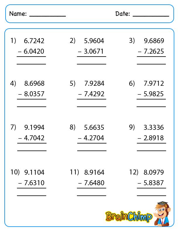 Decimal_Longest_Subtraction