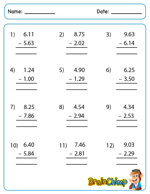 Decimal_Simple_Subtraction